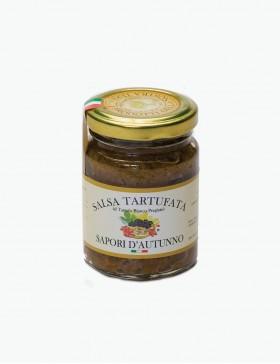 Salsa tartufata con Tartufo Bianco pregiato - 80 gr.