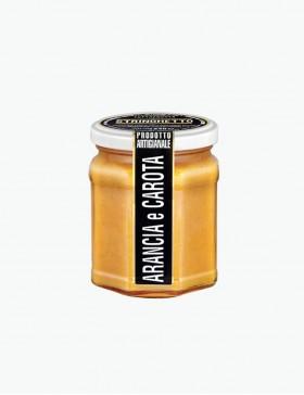 Marmellata di Arancia e Carota 240 gr. - Stringhetto