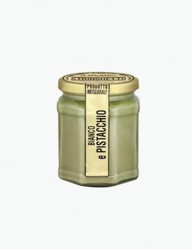 Cioccolato Bianco e Pistacchio di Bronte 240 gr. - Stringhetto