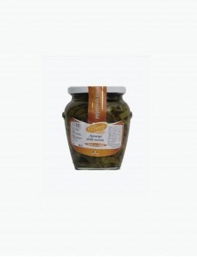 Asparagi Selvatici Sott'olio 580 gr. - Le Delizie del Sud