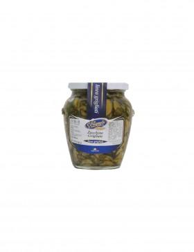 Zucchine Grigliate a Rondelle Sott'olio 580 gr - Le Delizie del Sud