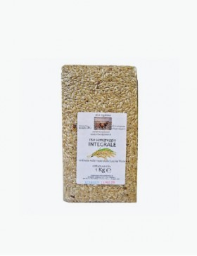 Riso Semigreggio Integrale 1 kg - Riso Viglione