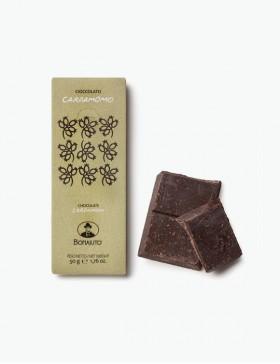 Cioccolato Cardamomo 50 gr. - Antica Dolceria Bonajuto