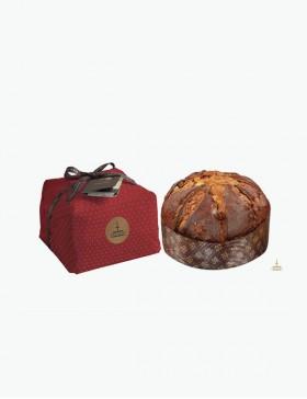 Panettone Tradizionale con uvetta e canditi aromatizzati al Marsala Doc - 1kg