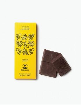 Cioccolato Limone 50 gr. - Antica Dolceria Bonajuto